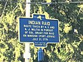 Historic marker Neversink Drive route taken by militia to Battle of Minisink 1779.jpg