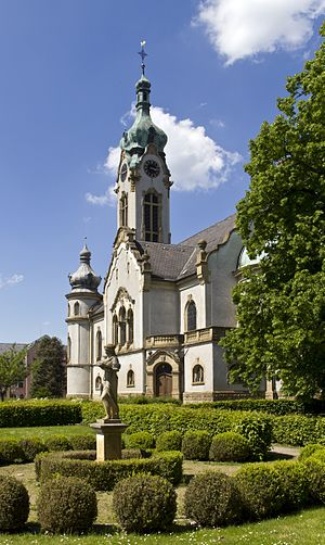 Hockenheim - The Protestant town church