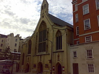 Edward Ashmore (British Army officer) - The church of Holy Trinity, Prince Consort Road, where Ashmore was married in 1919.
