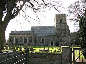 Stow Bardolph - Image: Holy Trinity church in Stow Bardolph geograph.org.uk 1737301