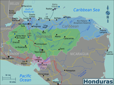 Honduras Regions map.png