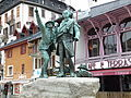 Horace-Bénédict de Saussure in Chamonix.JPG