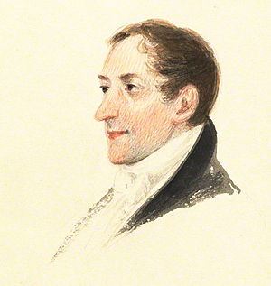 Horace Hayman Wilson - Watercolour by James Atkinson, 1821
