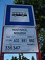 Hostivice, Nouzov, označení zastávky.jpg