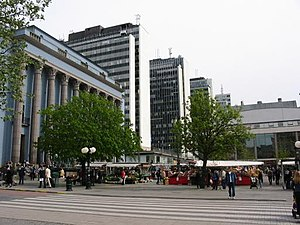 Hötorget - Hötorget, seen from the north