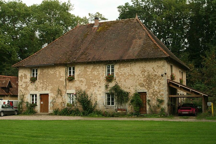 House in Bonnal (Doubs, France).