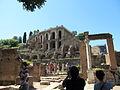 House of the Vestals and Domus Tiberiana 1 (15051792547).jpg