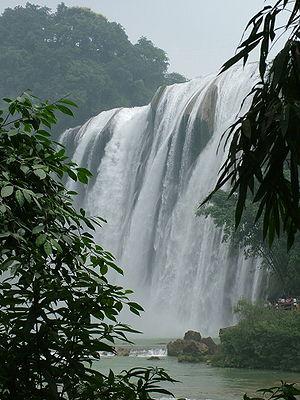 Huangguoshu Waterfall - Image: Huangguoshu Fall