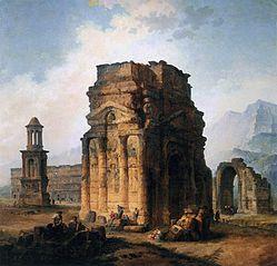 The Arc de Triomphe and the Theatre of Orange