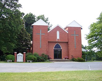 Huddleston, Virginia - Huddleston United Methodist Church