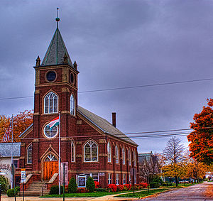 Hungarian Americans - Hungarian Reformed Church Fairport Harbor, Ohio