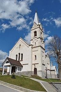 Huty - rímsko-katolícky kostol premenenia Pána.JPG