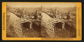 Hydraulic mining - The gate, Yuba County, from Robert N. Dennis collection of stereoscopic views.png