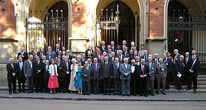Institut de Droit International - Members of the Institute at the 2005 Kraków Session
