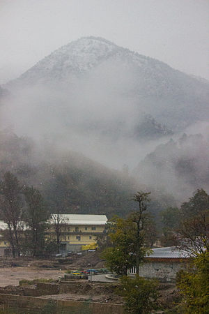Indian Institute of Technology Mandi - IIT Mandi Campus during winters