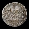 INC-888-a Талер Саксония-Веймар Иоганн Эрнст и его 7 братьев 1613 г. (аверс).png