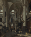 INTERIOR OF A PROTESTANT GOTHIC CHURCH.PNG