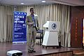 Iain Simpson Stewart - Lecture on Communicating Geoscience through the Popular Media - NCSM - Kolkata 2016-01-25 9425.JPG
