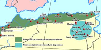 Moroccans - Image: Iberomaurisiense Capsiense