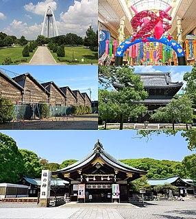 Ichinomiya, Aichi Core city in Chūbu, Japan