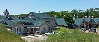 Mark Spitznagel - Idyll Farms complex in Northport, Michigan