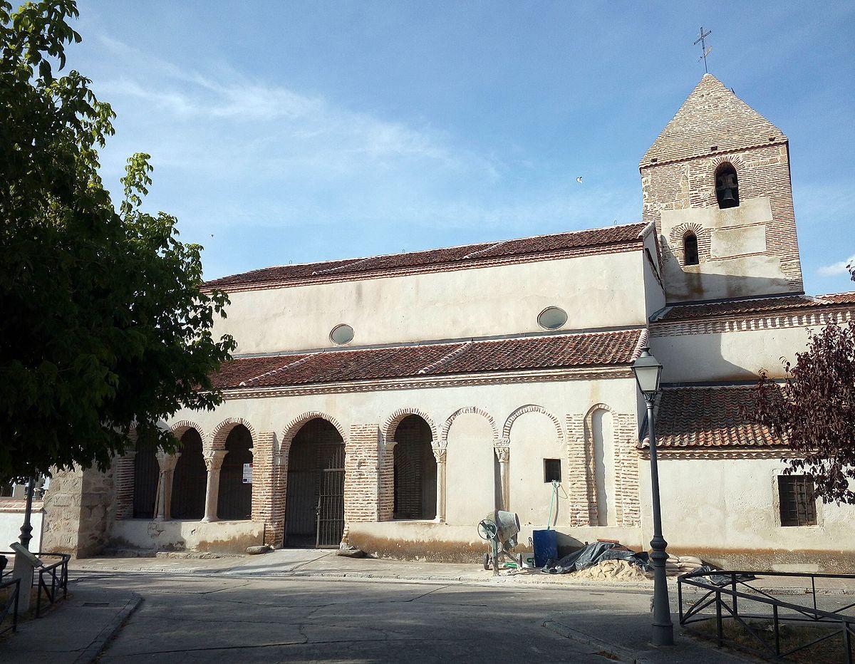 Resultado de imagen de Pinarejos. Iglesia de la Asunción de Nuestra Señora.