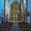 Iglesia de San Francisco, Villafranca del Bierzo. Presbiterio.jpg