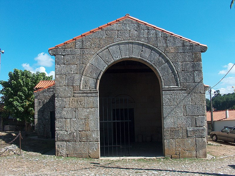 Church of São Pedro de Lourosa.  From An Architectural Tour of Portugal