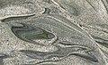 Iguana Green Granite (gneiss) (quarry near Messias Targino, Rio Grande do Norte, Brazil).jpg