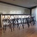 Ilan Garibi - Metal Bar Table for Herods hotel Herzelia.jpg