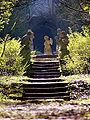 Im Puttengarten Schloss Schwanberg.JPG