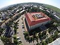 Imagine aeriană a Palatului de Justiţie (vedere dinspre Aleea Anastasie Crimca).JPG