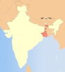 India West Bengal locator map.svg