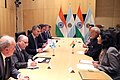 Indian Prime Minister Narendra Modi and Argentine President Mauricio Macri meeting on the sidelines of the 2018 BRICS Summit in Johannesburg (2).jpg