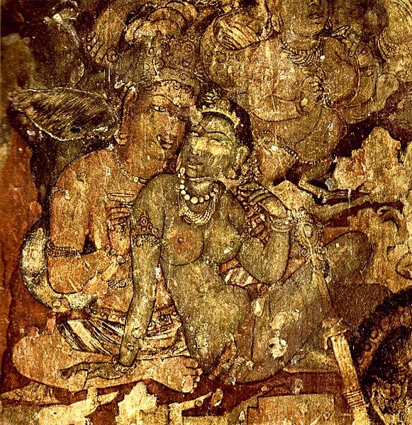 File:Indischer Maler des 6. Jahrhunderts 001.jpg