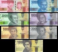 Indonesian Rupiah (IDR) banknotes.png