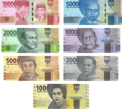 Indonesian rupiah new banknote series released in December 2016