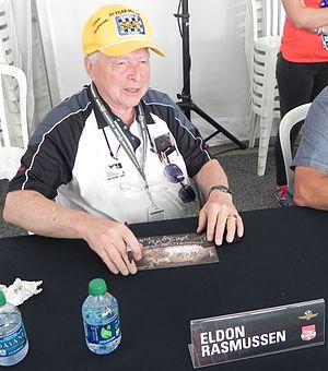 Eldon Rasmussen - Rasmussen at the 2014 Indianapolis 500.