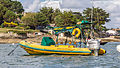 Inflatable boat of the Camel Trophy in harbour of St Mawes, Cornwall-8997.jpg