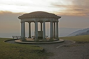 Colley Hill - Image: Inglis Memorial, Colley Hill geograph.org.uk 1143523