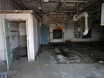 Inside a building at the Griffiss Weapons Storage Area.JPG