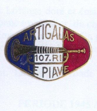107th Infantry Regiment (France) - Image: Insigne régimentaire du 107e régiment d'infanterie (1939)