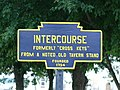 Intercourse, PA Keystone Marker 1.jpg