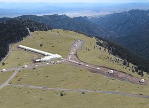 New Mexico Institute of Mining and Technology - Magdalena Ridge Observatory (MRO), managed by New Mexico Tech's Office of Research and Economic Development, is located 20 miles west of campus at an elevation of 10,500' in the Cibola National Forest.