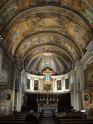 Church of Our Lady of Victories, Valletta - Interior of the church
