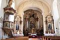 Interior of the Roman Catholic Church in Bakonybél.jpg