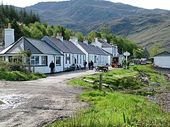 Inverie on the Knoydart peninsula