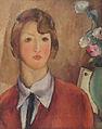 Ion Theodorescu-Sion - Fata in rosu.jpg