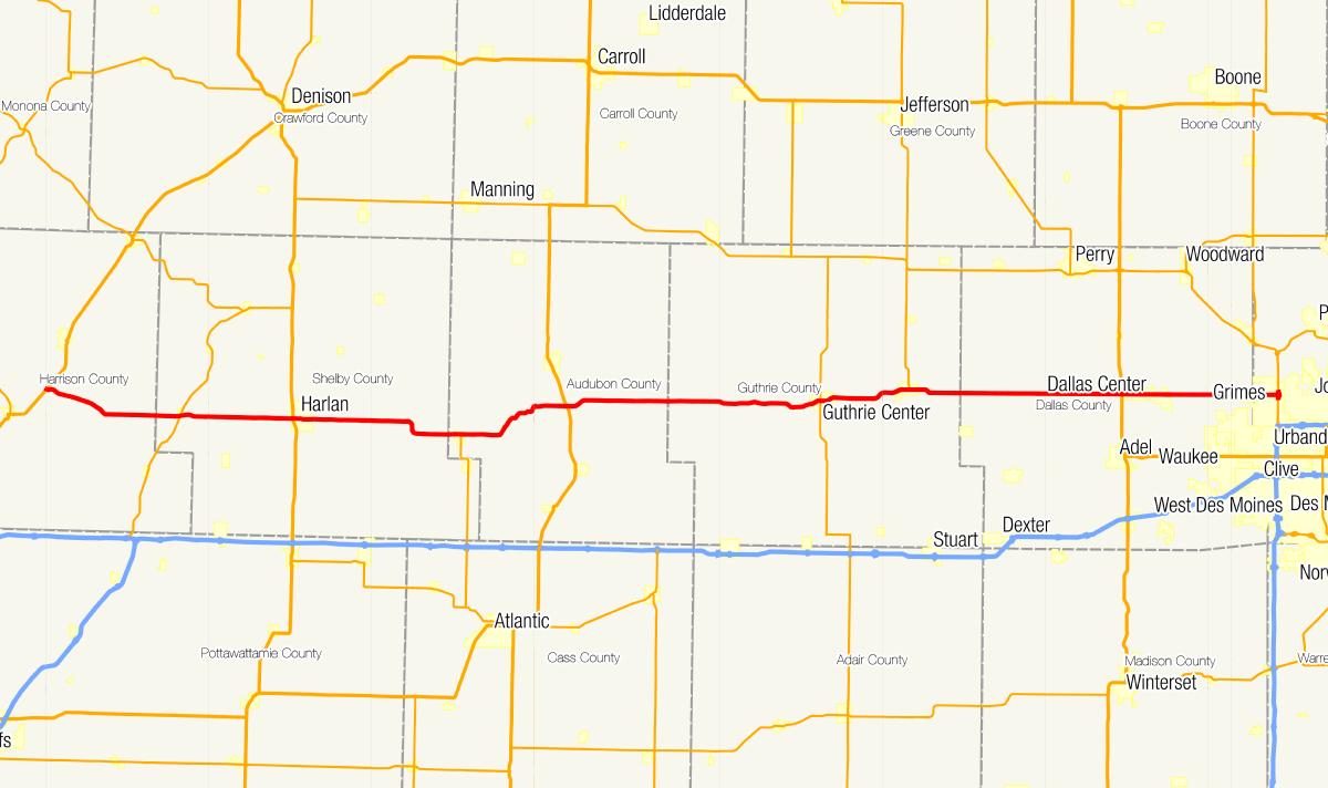Iowa Highway 44 Wikipedia