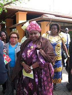 Isatou Njie Saidy, Gambia vice-president 2006.jpg